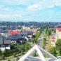 北側サービスバルコニーからの眺望